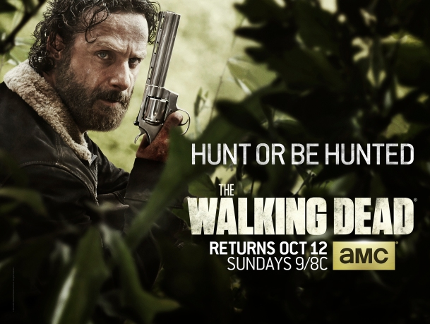 Andrew Lincoln as Rick Grimes - The Walking Dead _ Season 5, Key Art - Photo Credit: Courtesy of AMC